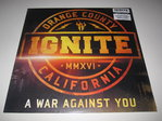 Ignite - A War Against You LP 180g Vinyl Schallplatte